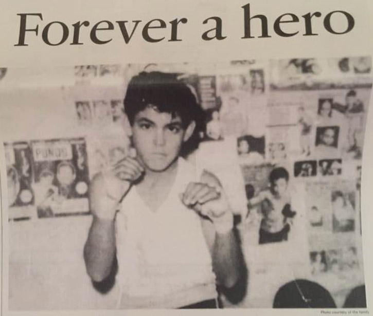 Forever a Hero